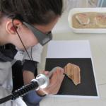 Test di pulitura mediante tecnologia laser abaq